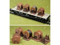 Proses PLS-003 náklad kabelové cívky 4ks
