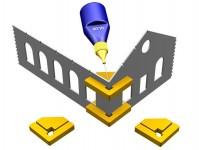 Proses PPR-SS-02 magnetické prvoúhlé držáky Snap & Glue 2ks