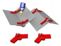 magnetické držáky Snap & Glue s nastavitelným úhlem 2ks