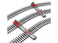 Proses PPT-HO-01 držáky pro výrobu paralelní tratě nastavitelné H0