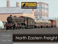 Graham Farish 370-090 nákladní vlak North Eastern Freight