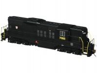 dieselová lokomotiva EMD GP9 Diesel Pennsylvania Rail Road