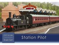 Branchline 30-180 set osobního vlaku Station Pilot s parní lokomotivou BR
