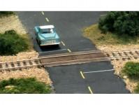 Woodland Scenics C1149 železniční přejezd dřevěný