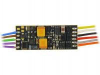 Zimo MX649R miniaturní zvukový dekodér MX649 8-pinové rozhraní dle NEM652 s vodiči