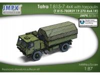 JMPK 87301K Tatra T 815-7 4x4 valníl s plachtou stavebnice
