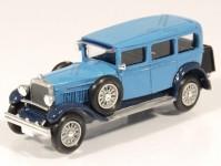 Škoda 6R limuzína 1929-30 tyrkysová
