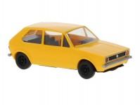 Brekina 25540 VW Golf I tmavě žlutý