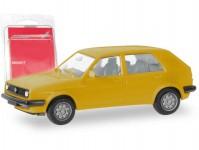 Herpa 012195-008 MiKi VW Golf II 4-dvéřový žlutý