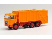 Herpa 013833 MiKi Roman Diesel popelářský vůz oranžový