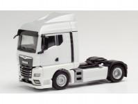 Herpa 311960 MAN TGX GM tahač 2-osý bílý