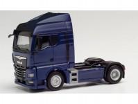 Herpa 311977 MAN TGX GM tahač 2-osý modrý