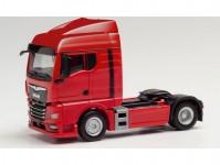 Herpa 312516 MAN TGX GM tahač 2-osý červený
