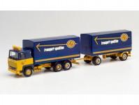 Herpa 312585 Scania 141 ASG s přívěsem