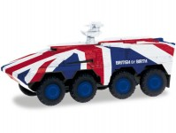 Herpa 746748 demonstrační vozidlo GTK Boxer British Army