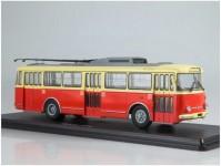 Herpa 83SSM4044 Škoda 9tr béžový / červený