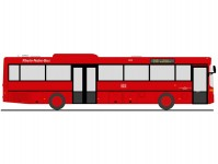 Rietze 77316 Mercedes-Benz O 407 Rhein-Nahe-Bus