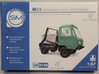Small Models 0106k Multicar M25 ramenový nosič kontejnerů