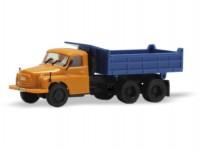 IGRA MODEL 66818011 Tatra 148 sklápěč S1 oranžová kabina a modrá korba