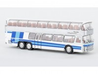Brekina 58290 Neoplan NH 22 Doppeldecker stříbrný / modrý