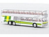 Brekina 58291 Neoplan NH 22 Doppeldecker stříbrný / zelený