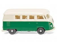 Wiking 93204 VW T1 Bus zelený / bílý