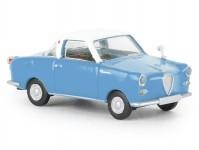 Brekina 27850 Goggomobil Coupé modrý/bílý