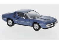 Brekina PCX870075 Alfa Romeo Montreal tmavě modrá metaíza 1970