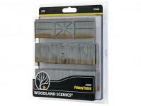 Woodland Scenics A3005 dřevěná hradba