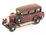 Modelauto 87493v Walter Standard 6 limuzína 1933 vínový