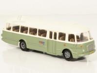 RA Došlý 101200 Škoda 706 RTO zelený/bílý, 1x2-dílné dveře H0