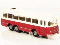 RA Došlý 108101 Karosa HB 500 červený/bílý, 1x2-dílné dveře H0