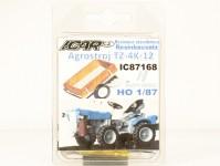 ICAR 87168K malotraktor Agrostroj TZ4K-12 stavebnice