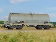 SDV 12107 kotlový vůz Zas 30 ČSD IV.epocha