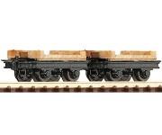 Roco 34607 set plošinových vozů 2ks H0e