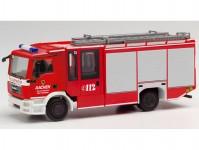 Herpa 095730 MAN TGS Ziegler Z-Cab hasiči Aachen