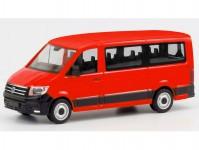 Herpa 095846 VW Crafter Bus nízká střecha červený