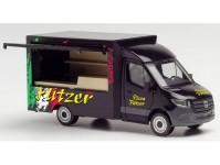Herpa 095884 MB Sprinter 2018 Pizza Flitzer