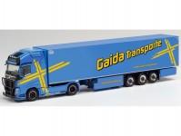 Herpa 312752 Volvo FH GL XL chladírenský návěs Gaida Transporte