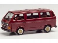 Herpa 420914 VW T3 Bus vínový s koly BBS