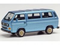 Herpa 430876 VW T3 Bus modrá metalíza