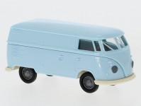 Brekina 32728 VW T1b skříňový světle modrý