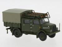 Brekina 71756 IFA S 4000-1 Bautruppwagen Armáda NDR 1960